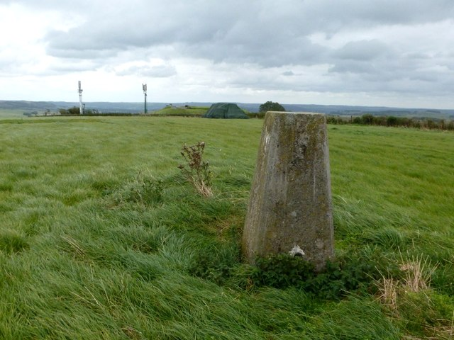 Trig point on Sough Top