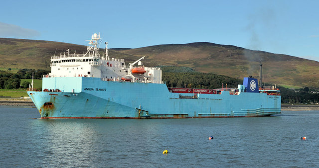 "The ""Anglia Seaways"", Warrenpoint"