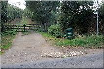 SP9833 : Greensand Ridge Walk towards Tyrell's End by Philip Jeffrey