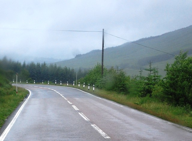 A82 northbound