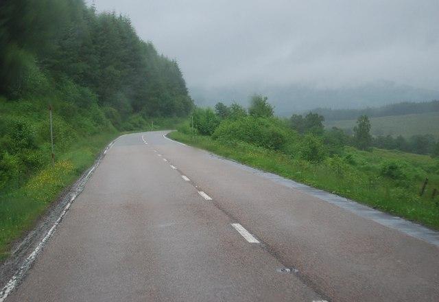 A82, Coille Bhreac-Liath