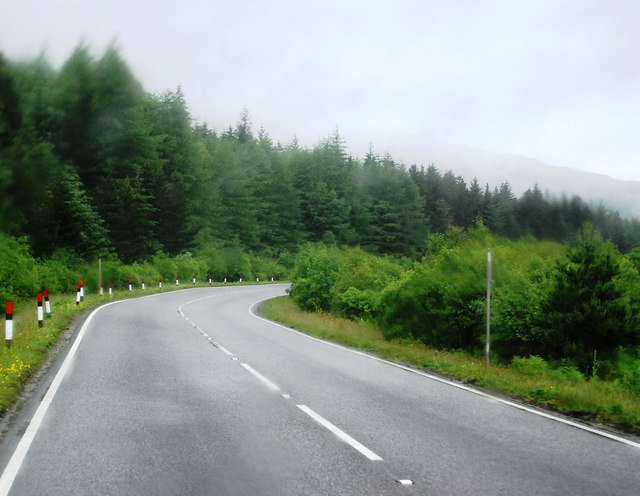 A82 near Cnoc Buide