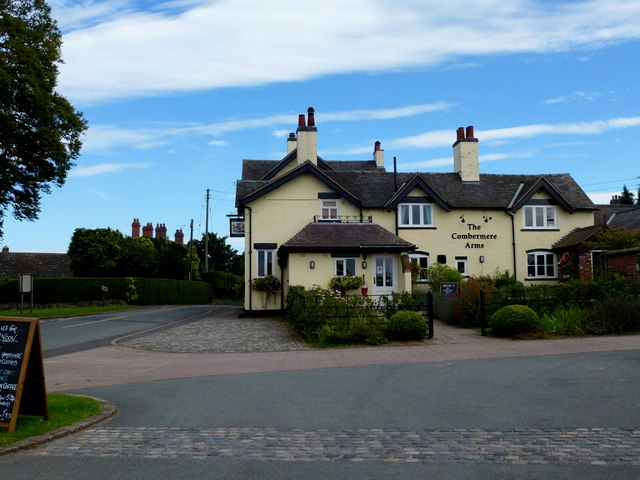 The Combermere Arms, Burleydam