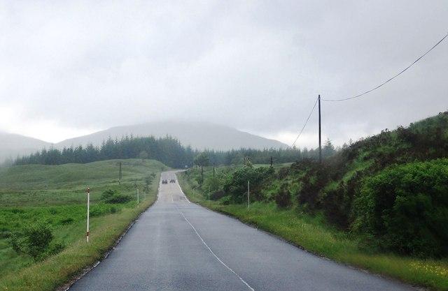 A82 north of Bridge of Orchy