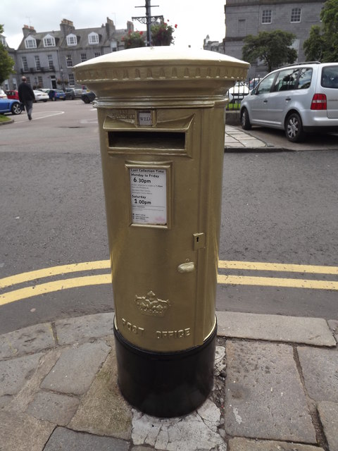 Golden Post Box, Golden Square