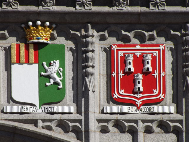 Coats of Arms, Marischal College