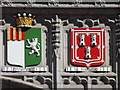NJ9406 : Coats of Arms, Marischal College by Colin Smith