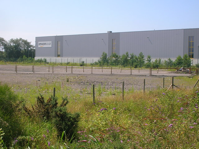 Amazon distribution warehouse, Crymlyn