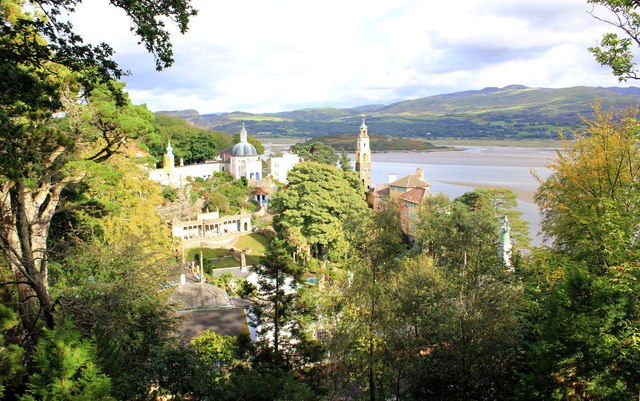 View across Portmeirion