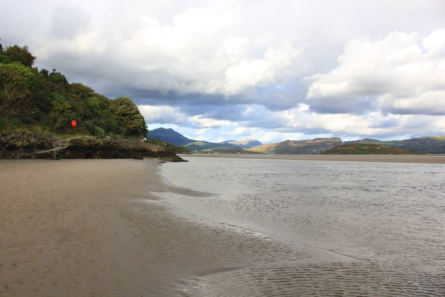 Estuary of the River Dwyryd at Portmeirion