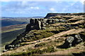 SK0889 : The Edge - Kinder Plateau - looking eastwards by Neil Theasby