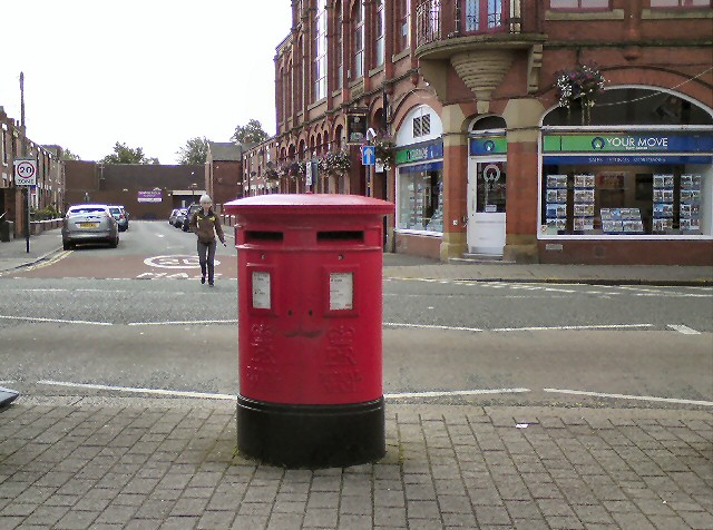 Denton: Double post-box