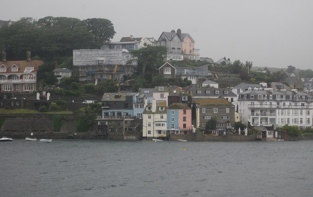 Salcombe across the Estuary