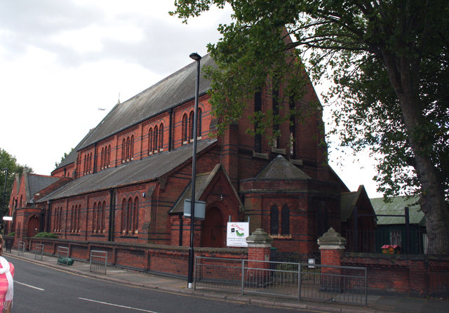 Acton Green:  St. Alban's Church
