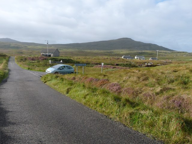 Road junction at Grithean
