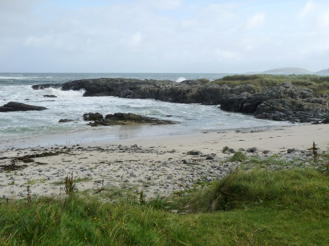 The shore at Aird Mhurain