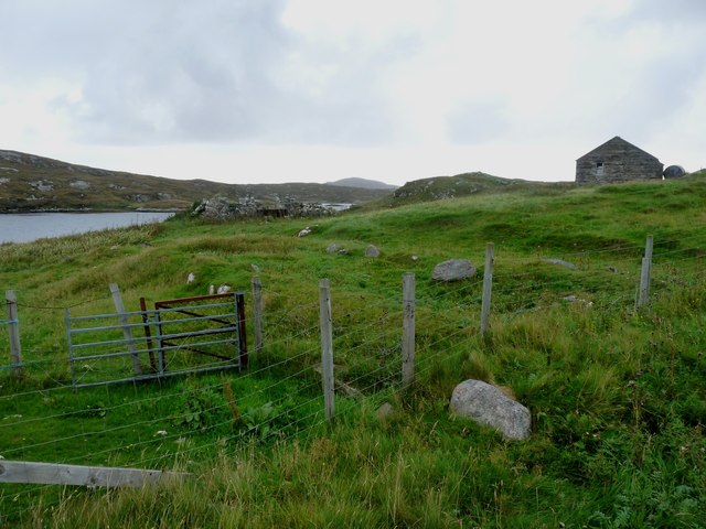 Croft at Loch Ob