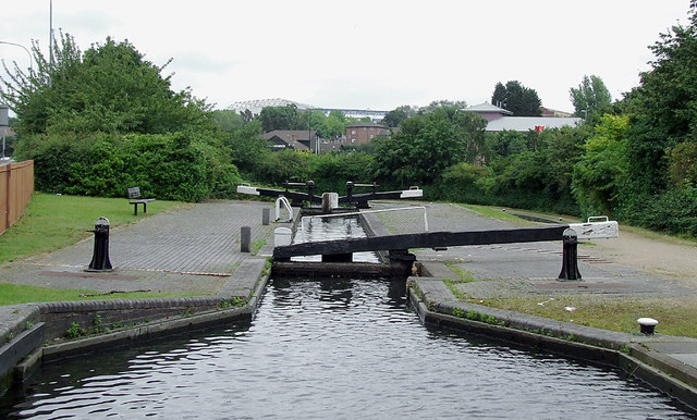 Camp Hill Locks (new) No 54 near Sparkbrook, Birmingham