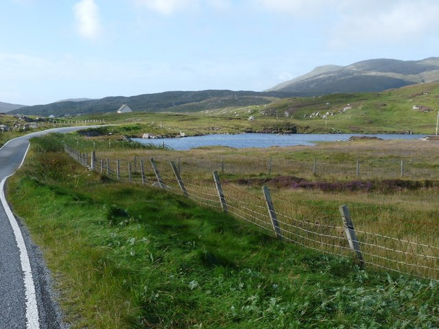 Eastern ring road (A888) on Barra