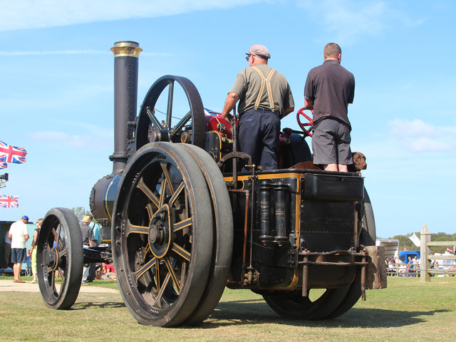 Steam engine, Laughton Show