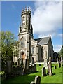 NS2684 : Rhu Parish Church by Lairich Rig