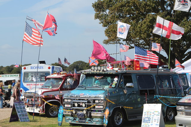 American mini-vans, Laughton Show