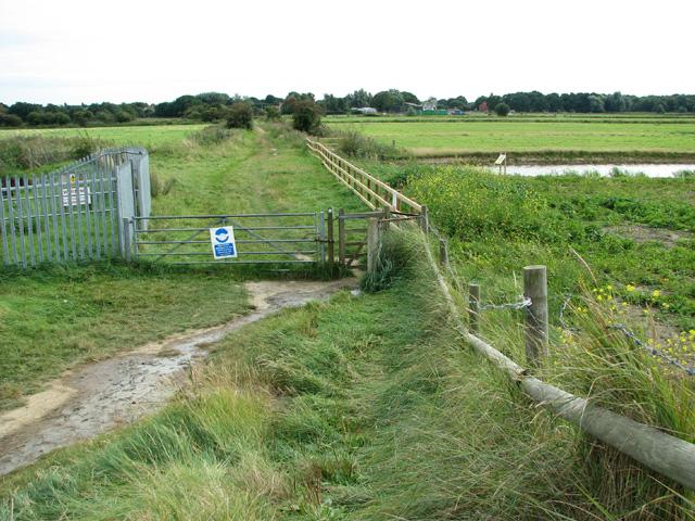 Footpath to Belton