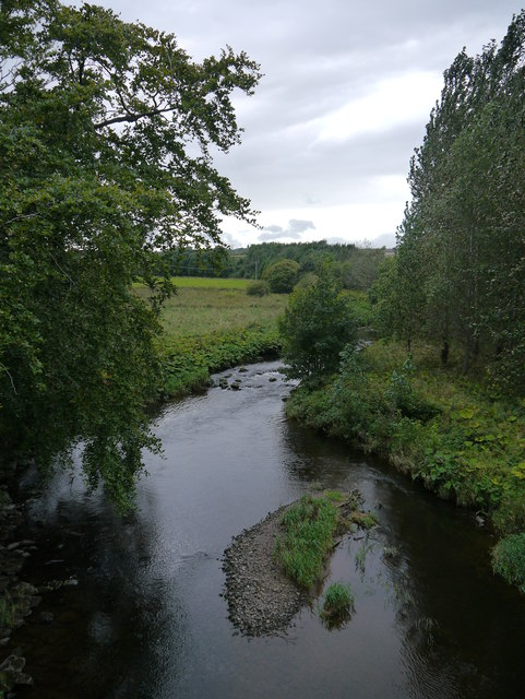 View From Sisterpath Mill Bridge