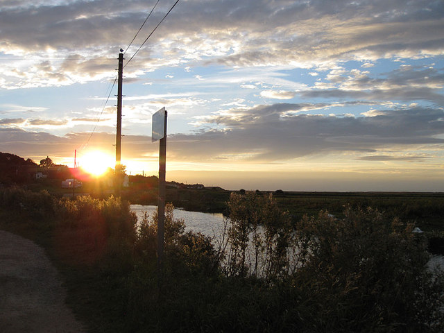 Sundown over Salthouse