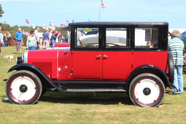 Chevrolet vintage car, Laughton Show