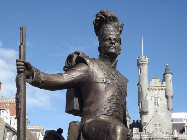 Gordon Highlander Statue