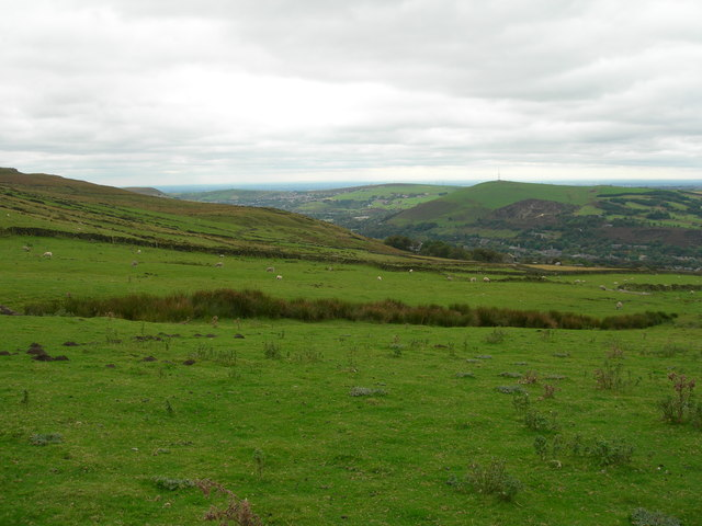 Southwest view from Slades Barn