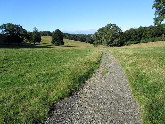 Leeds Country Way on Lodge Hills
