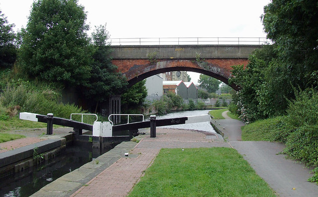 Camp Hill Top Lock near Sparkbrook, Birmingham