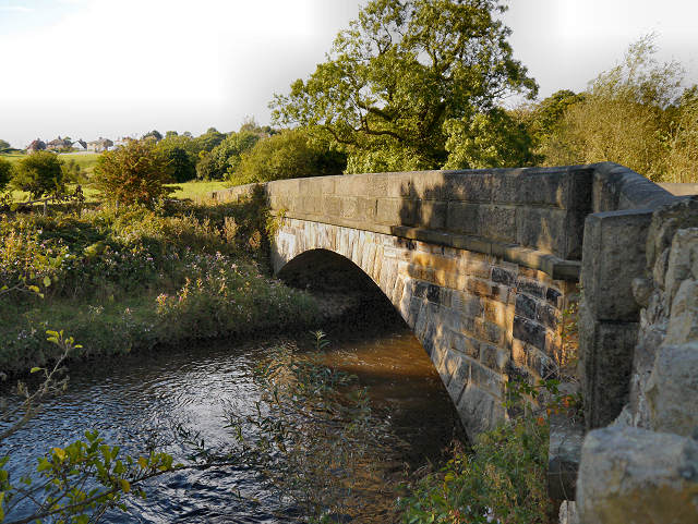 River Goyt, Hague Bridge