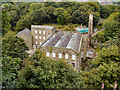 SJ9985 : Torr Vale Mill, New Mills by David Dixon