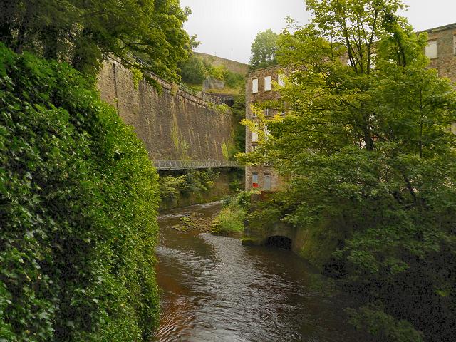 River Goyt, Torr Vale Mill
