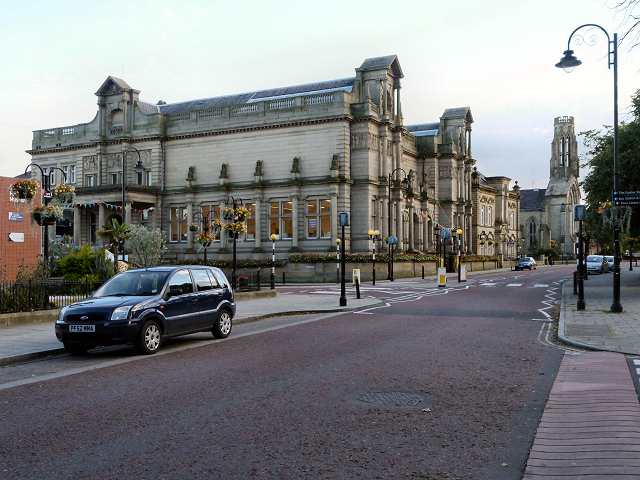 Bury Central Library, Art Gallery and Museum Bury