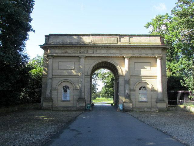 Main Gateway serving Harewood Estate