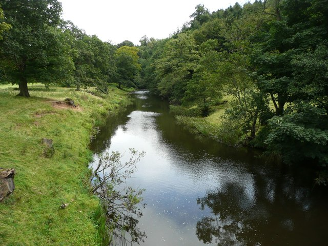 River Aln in Hulme Park