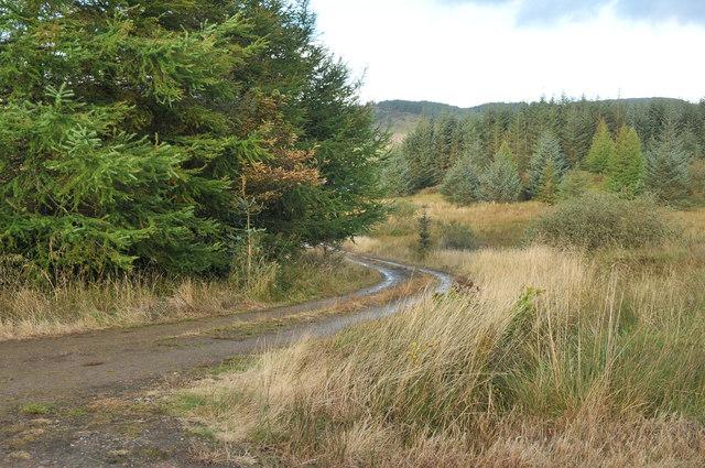 Track to Loch Melldalloch