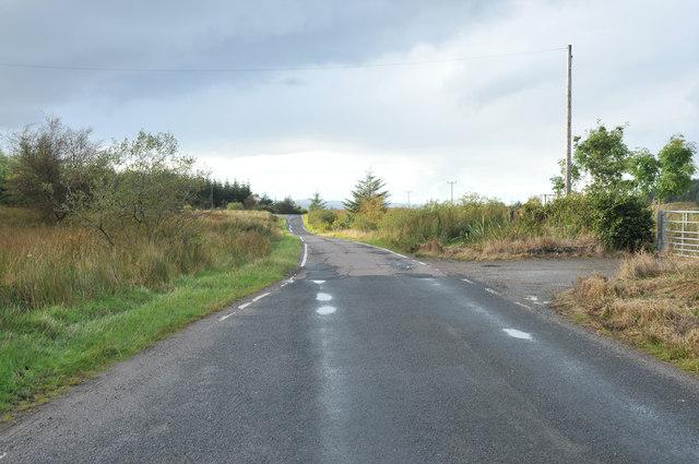 B8000 past Loch Melldalloch
