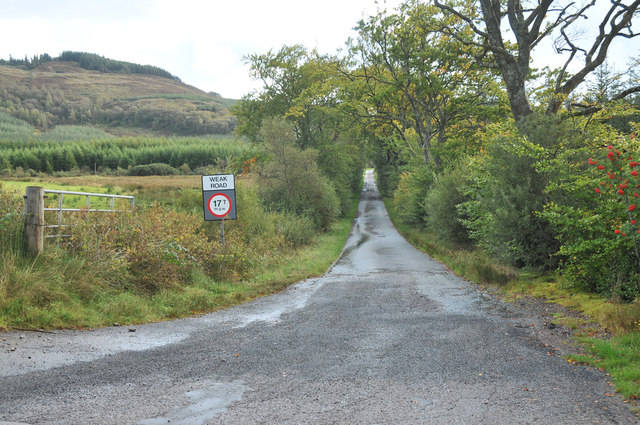 No through road to Ardmarnock