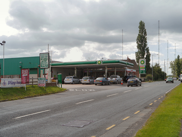 Swan Service Station, Upton Warren