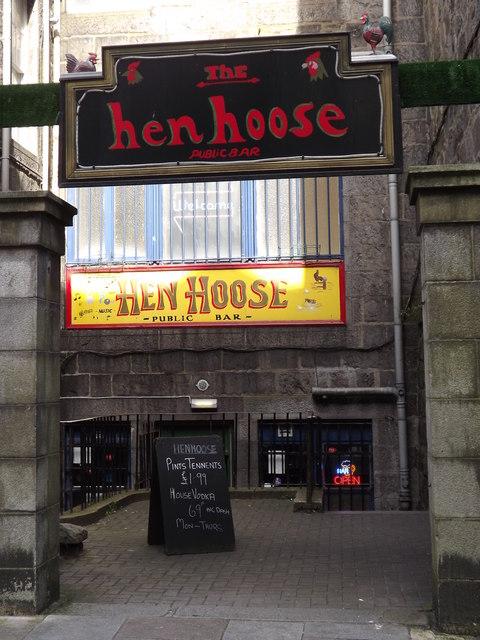 The Hen Hoose