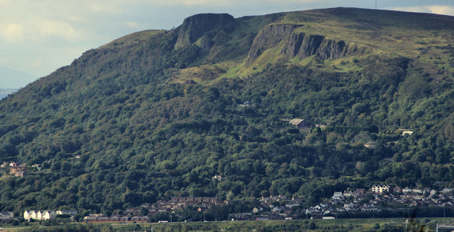 The Cave Hill, Belfast from Knockagh