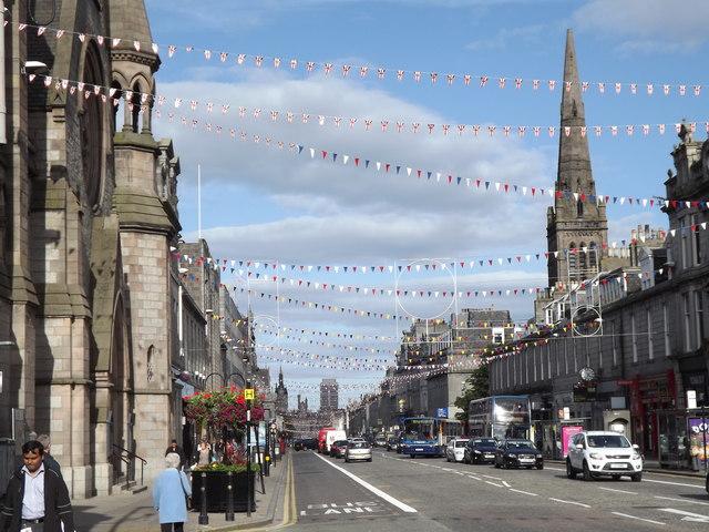 Festive Union Street