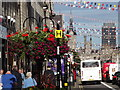 NJ9305 : Flowers and Bunting by Colin Smith