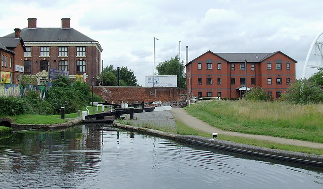 Grand Union Canal near Spring Vale, Birmingham