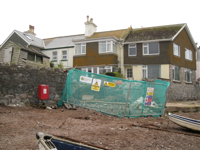 Alterations to an access to the harbour